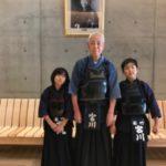 令和元年7月26日 初めて孫達と剣道の稽古をしました。