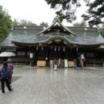 令和元年10月14日、武蔵総社 大國魂神社にて天然理心流の奉納演武を行いました。