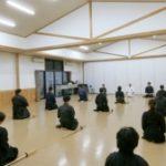 令和元年12月21日、勇武館は今年の納会稽古・忘年会を行いました。