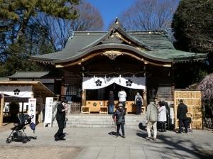令和2年2月9日(日)、勇武館は、調布 布多天神社にて天然理心流の奉納演武を行いました。