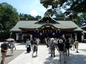 "<span class=""title"">令和3年7月20日、大國魂神社の「すもも祭り」にまいりました。</span>"